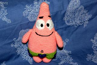 Free Crochet Pattern Patrick Star : Ravelry: Patrick Star Amigurumi pattern by Anto Gal