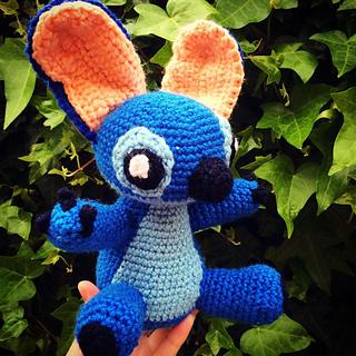 Amigurumi Lilo Y Stitch : Ravelry: Amigurumi Stitch! from Lilo and Stitch pattern by ...