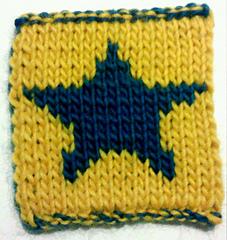 Knitted Star Pattern : Ravelry: Knit Star Scarf pattern by Crafty Chick Knits