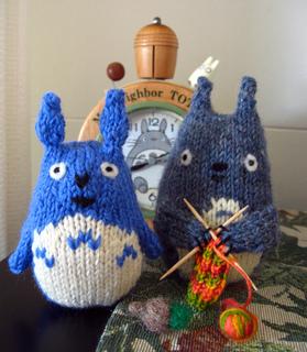 Free Knitting Pattern Totoro Toy : Ravelry: Chu Totoro Toy pattern by brella