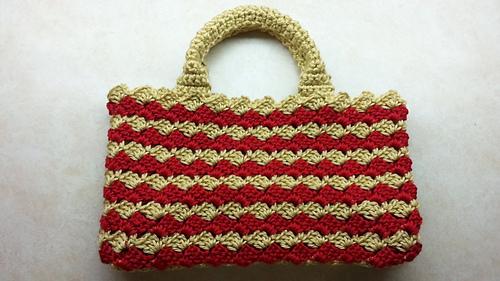 prada black leather bag - Ravelry: Crochet Look Alike Prada Bag pattern by Crystal Doedtman