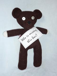 Free Knitting Pattern For Mr Bean s Teddy Bear : Ravelry: Lonely Bear pattern by Akinna Stisu