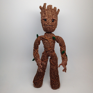 Amigurumi Groot Patron : Ravelry: I Am a Tree -- Groot inspired Amigurumi pattern ...