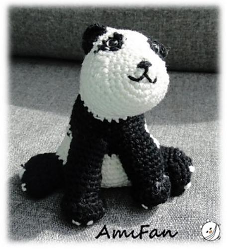 Haak Maar Aan Panda Patroon Online Gratis