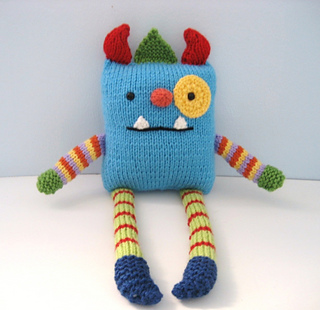 Ravelry: Knit Monster Amigurumi Pattern pattern by Amy Gaines