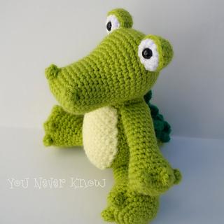 Amigurumi Alligator Free Pattern : Ravelry: Crocodile Amigurumi pattern by Carolina Guzman