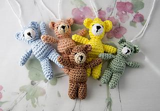 Tiny Teddy Bear Knitting Patterns : Ravelry: Small Teddy Bear pattern by Anita Schaeder