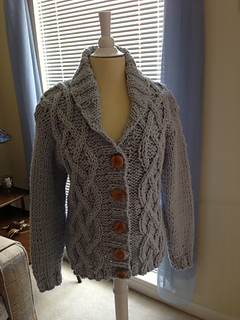 Ravelry: Shawl Collared Jacket pattern by Sirdar Spinning Ltd.