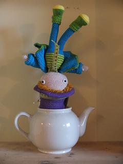 Mad Hatter Amigurumi : Ravelry: Amigurumi Mad Hatter - Alice in Wonderland ...
