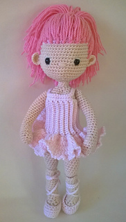 Ravelry Ballerina Outfit My Little Crochet Doll Pattern