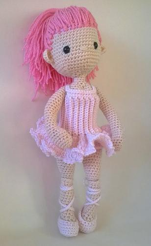 Ravelry: Ballerina Outfit - my little crochet doll pattern ...
