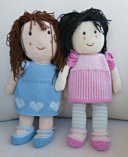 Ravelry: Knitted Doll pattern by Bonny Bonafilla
