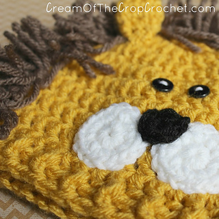 Ravelry: Preemie/Newborn Lion Hat pattern by Cream Of The ...