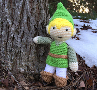 Amigurumi Link : Ravelry: Amigurumi Link Pattern pattern by Brittany Coughlin