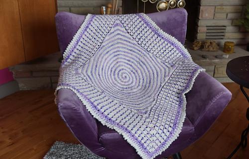 Ravelry Dreamtime Baby Blanket Pattern By Michael Sellick
