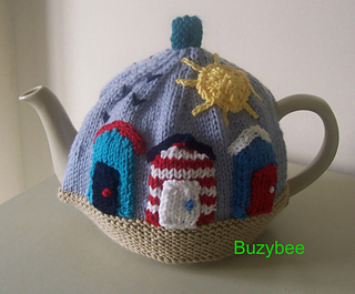 Ravelry: Sunny Seaside Tea Cosy pattern by Patricia Evans