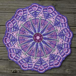 Ravelry Overlay Mandala No 6 Pattern By Carocreated Design