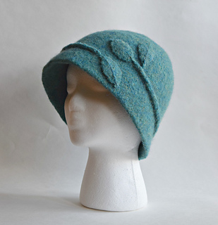 Ravelry: Vine Cloche Felted Hat pattern by Cindy Pilon