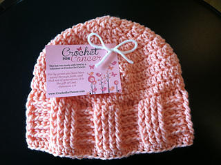 Ravelry Crochet For Cancer S Basketweave Vertical Stripe