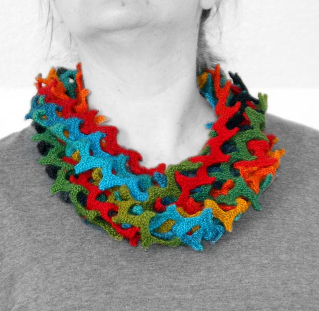 针织:围巾 - maomao - 我随心动