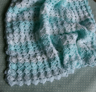 Ravelry Blanket For Baby Or Lap Robe Pattern By Sheila
