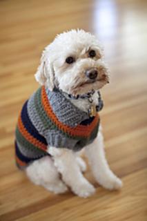 Ravelry Dog Coat Pattern By Bernat Design Studio