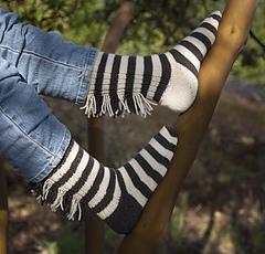 Cat's Zebra socks PDF