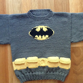 Batman Knitting Chart Pattern : Ravelry: Mini Batman Logo Chart pattern by Elizabeth Thomas