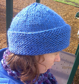 Ravelry: Fitted hat with roll back brim pattern by Patons Australia