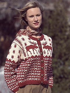 Ravelry Nordic Cardigan Pattern By Patons