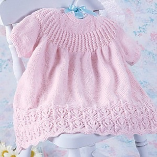 Ravelry Leisure Arts 2249 Knit Baby Dresses Patterns
