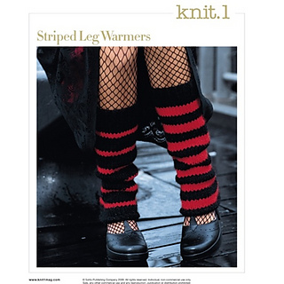 Ravelry: #17, Striped Leg Warmers pattern by Stephanie Klose
