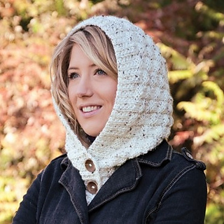 Free Knitting Pattern Hooded Neck Warmer : Ravelry: Hooded Tweed Collar pattern by Mary Maxim
