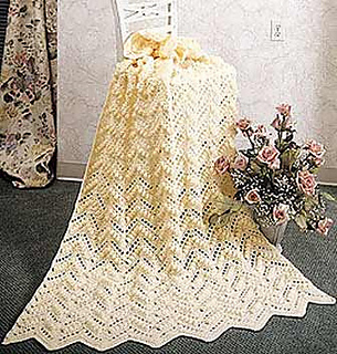 Ravelry Popcorn Ripple Afghan Pattern By Mary Maxim