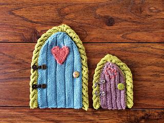 Ravelry fairy door pattern by colleen dunne for Fairy door pattern