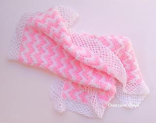 Easy Zig Zag Crochet Baby Blanket Pattern : Ravelry: Zig zag puff baby blanket pattern by Fiorella Pittal?