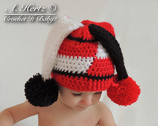 Ravelry: Jester Hat Pattern - 0 to Adult pattern by ...