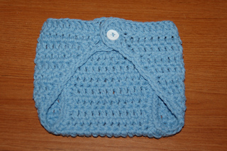 Free Printable Crochet Diaper Cover Pattern : Ravelry: Newborn Diaper Cover Single Button pattern by ...