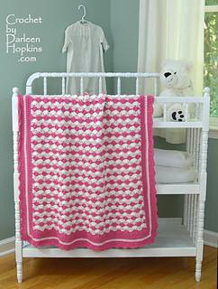 Shells Of Love Crochet Baby Blanket Pattern : Ravelry: Baby Blanket Shells of Love pattern by Darleen ...
