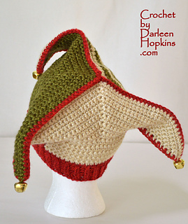 Ravelry: Silly Court Jester / Elf Hat Crochet pattern by ...