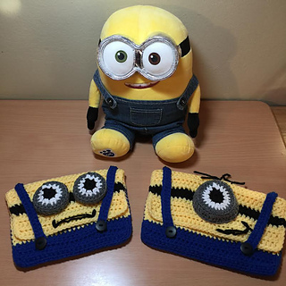 Ravelry: Minion Pencil Case pattern by Debbie Colon