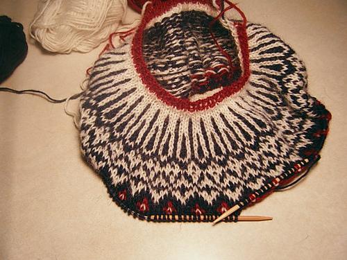 Icelandic Sweater yoke
