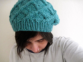 Ravelry: Intwined Beret (Knitted) pattern by DesiLoop