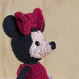 Crochet Pattern Owl Amigurumi : Ravelry: Amigurumi Minnie Mouse pattern by Duende de los Hilos