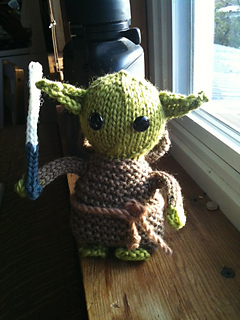 Ravelry: Knitted Yoda Doll Pattern pattern by Brittany Jones