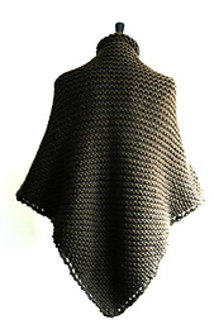 Knitting Pattern Chunky Cape : Ravelry: ASPIRE Cape Shawl pattern by Sonji Clayton