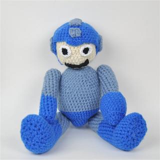 Ravelry: Mega Man Amigurumi Doll pattern by Penolopy Bulnick