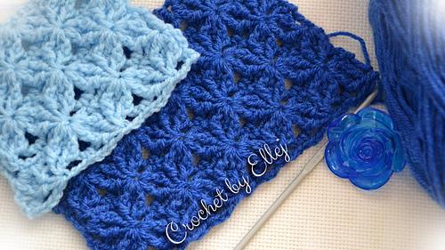 Crochet Y Stitch : Ravelry: The Star Dance Crochet Stitch pattern by Elena Kozhukhar