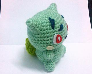Erin Amigurumi Pokemon : Ravelry: Bulbasaur Pokemon Amigurumi pattern by Erin Huynh