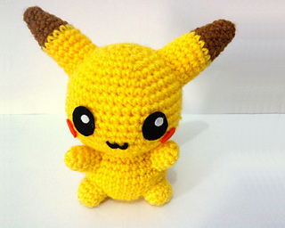 Amigurumi Tutorial Pokemon : Ravelry: Pikachu Pokemon Amigurumi pattern by Erin Huynh